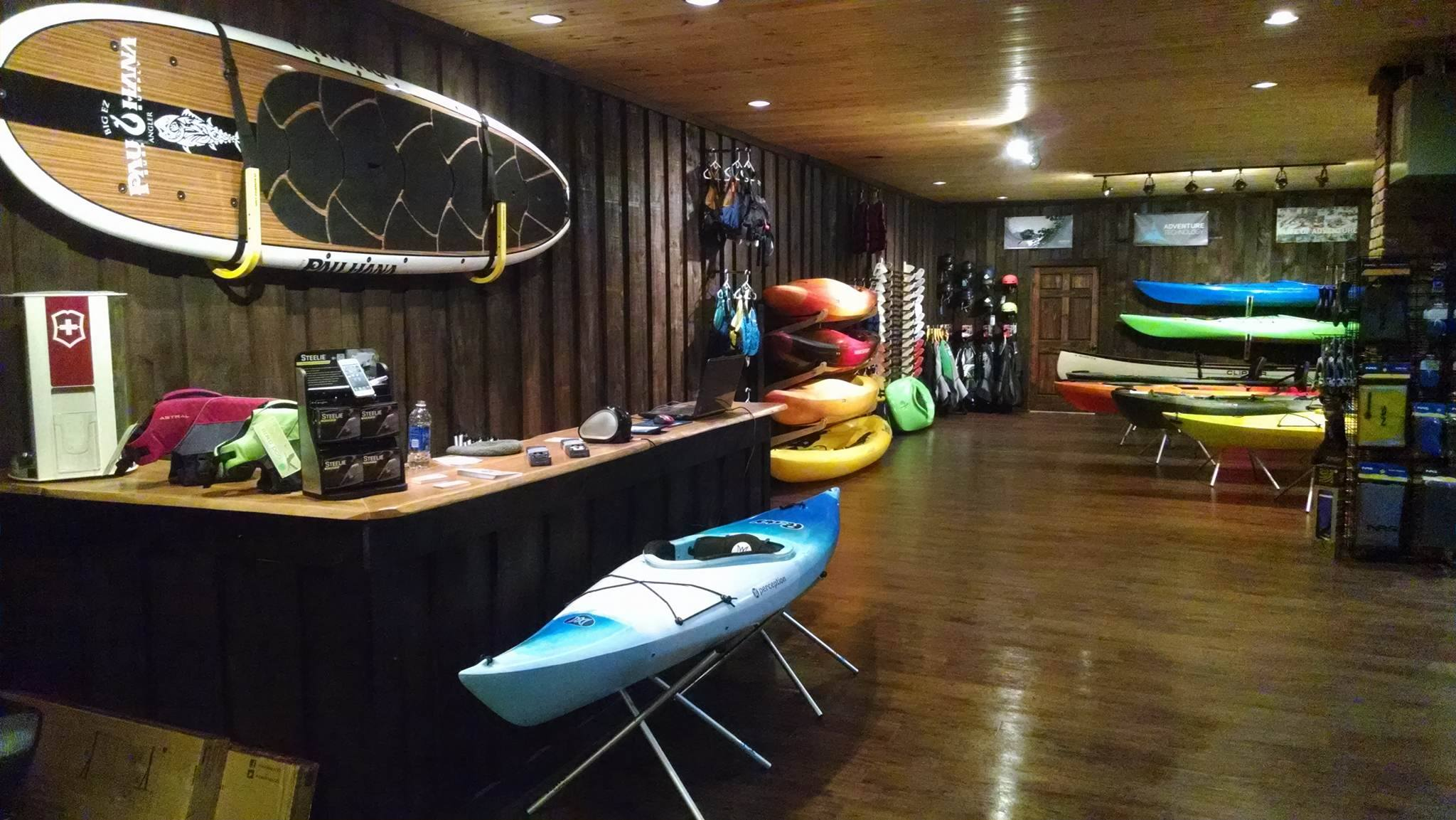 outdoor store in ellicottville adventure bound on the fly