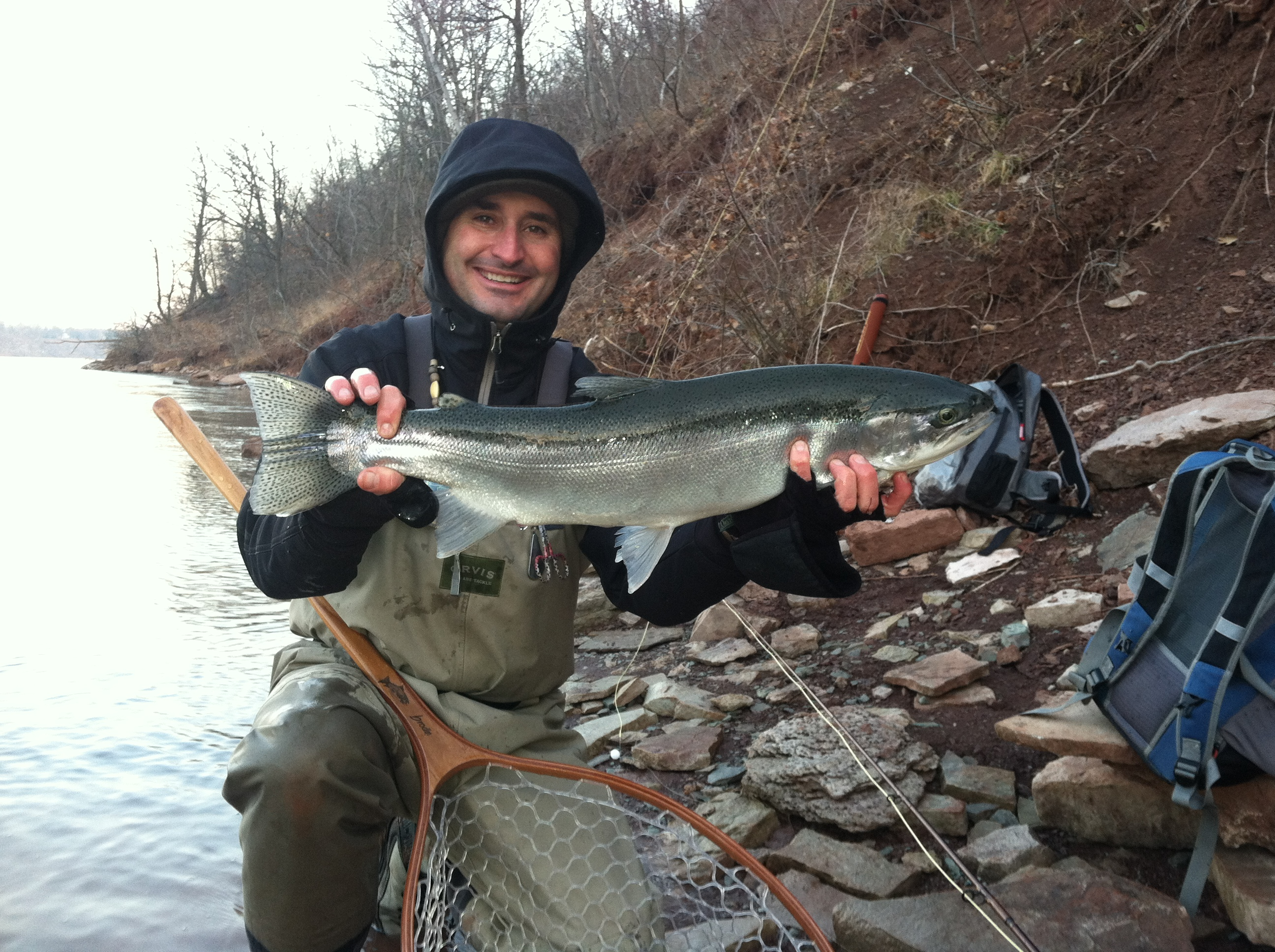 Steelhead basics for fishing in western ny adventure for Steelhead fishing tips