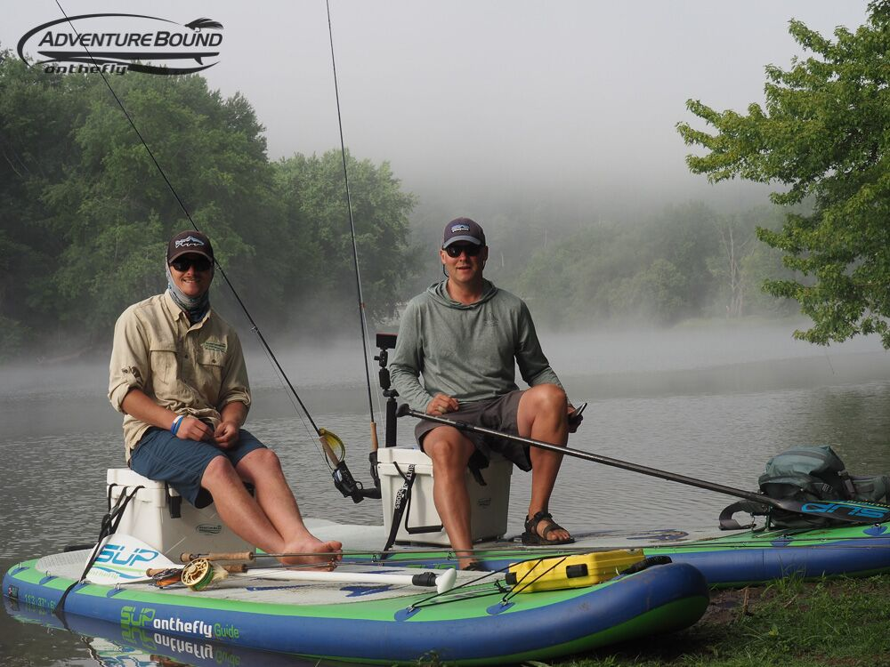 Fly fishing adventure bound on the fly for Best fishing sup