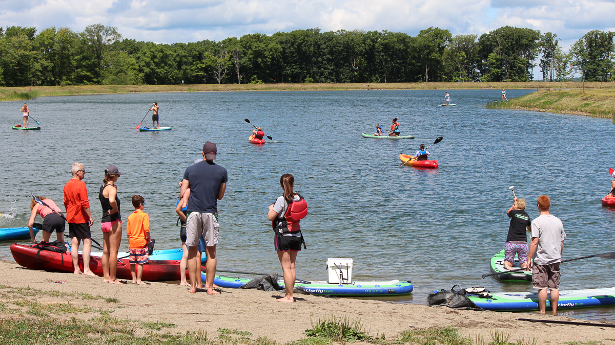 Spruce Lake SUP and Kayak Rentals