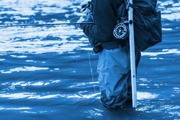winter ice-fishing
